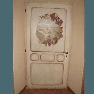 Decorazioni mobili, restauro porte