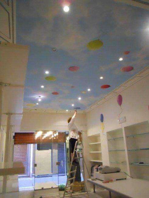 Tecniche di decorazione per soffitto