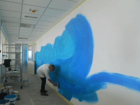 Tecniche decorazione parete