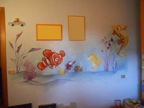 Dipinti su parete per cameretta