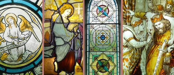 Beautiful stained glass images