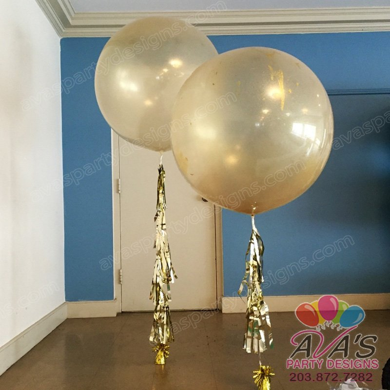 Glitter balloon, 36
