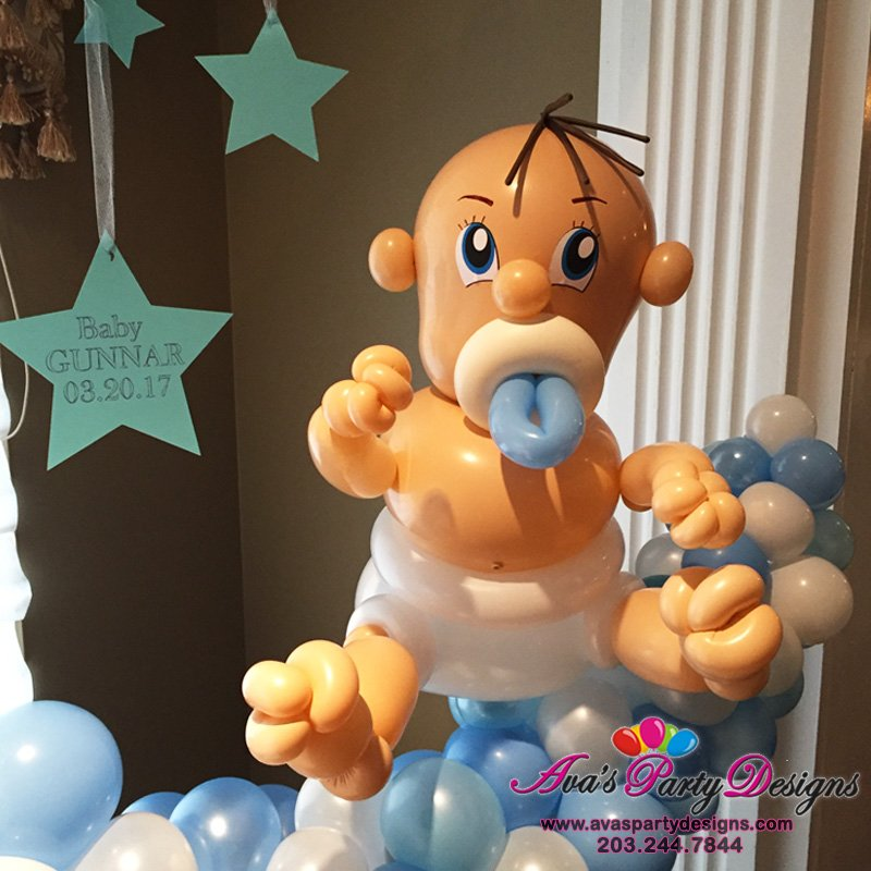 Twisted Baby Balloon Sculpture