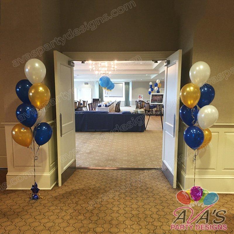 Entrance Floor Balloon Bouquet, balloons for doorway