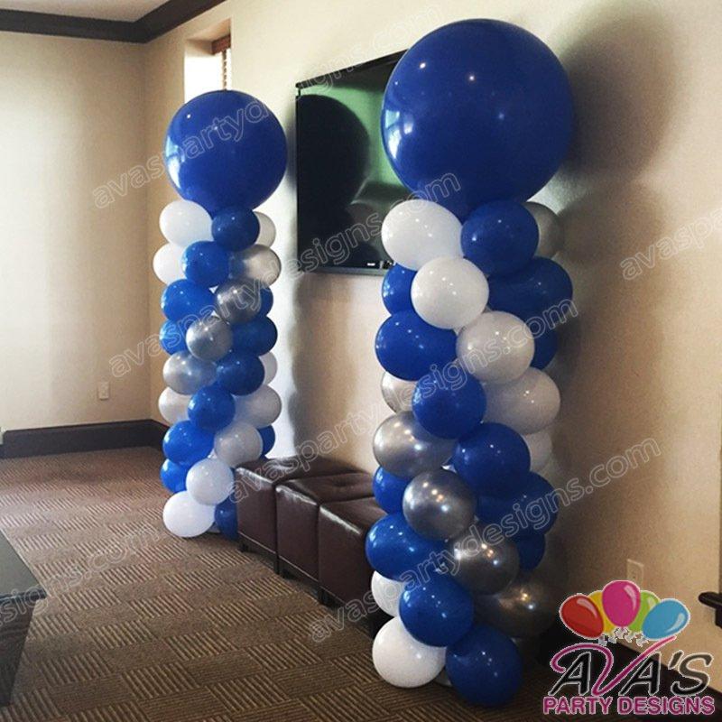Balloon Column, 3ft balloon decor