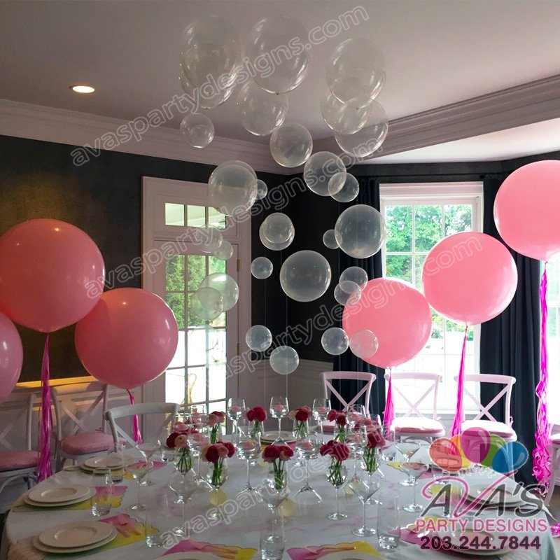 Bubble Balloon Centerpiece, 36