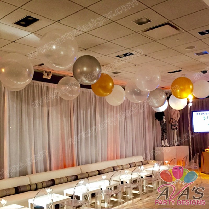 balloon ceilings, balloon decoration CT, balloon decor ideas