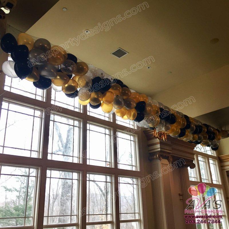 New Years Eve Balloon Drop, Balloon Drop, balloon decorator, wedding balloons, new year eve balloons