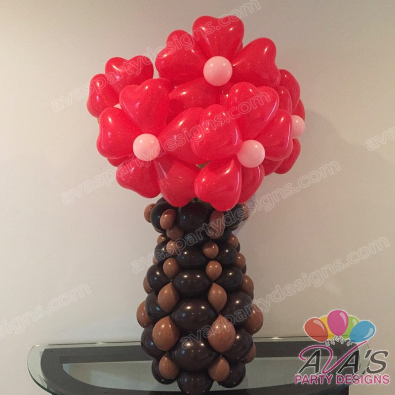 Flower Balloons, Flower Sculpture, Flower Bouquet Delivery, Ava's Party Designs