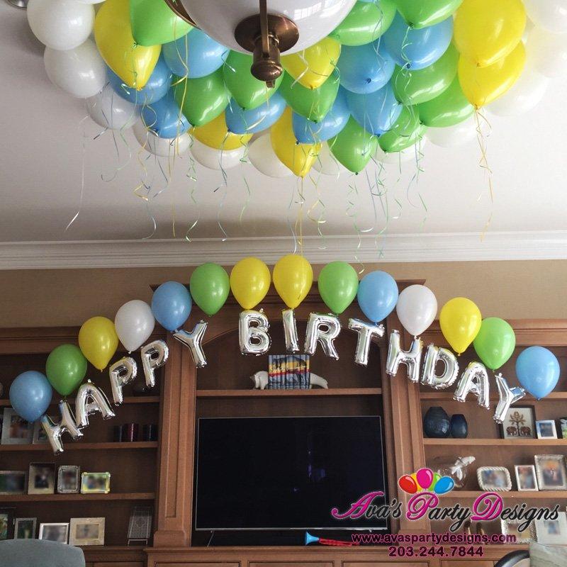 Letter Balloon Arch, Balloon decoration