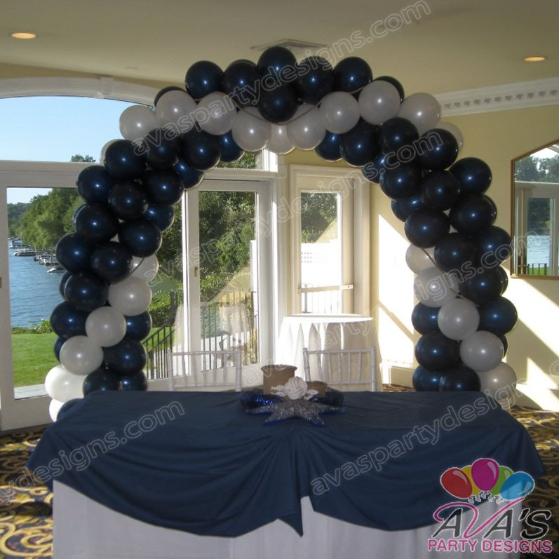 Wedding balloon arch, Balloon Arch for a wedding, gold and white wedding decoration