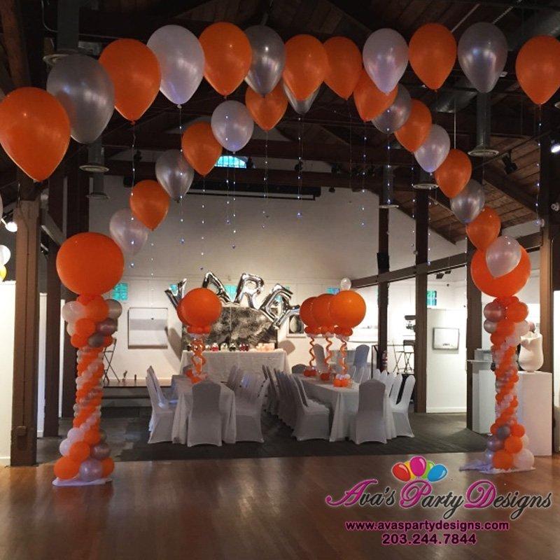 Bat Mitzvah Balloon Decorations