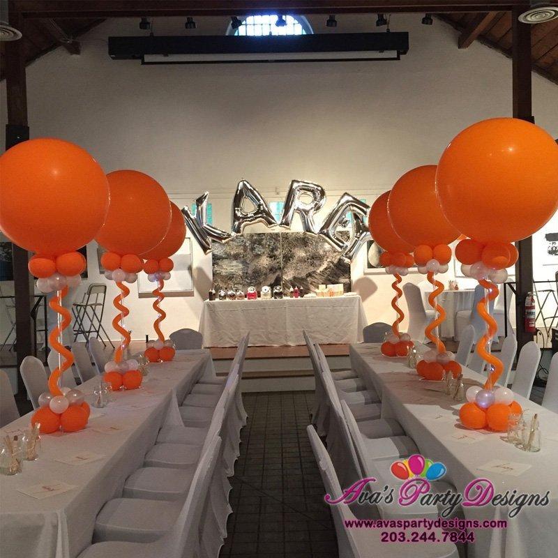 Bat Mitzvah Balloon Decoration, Party Balloons