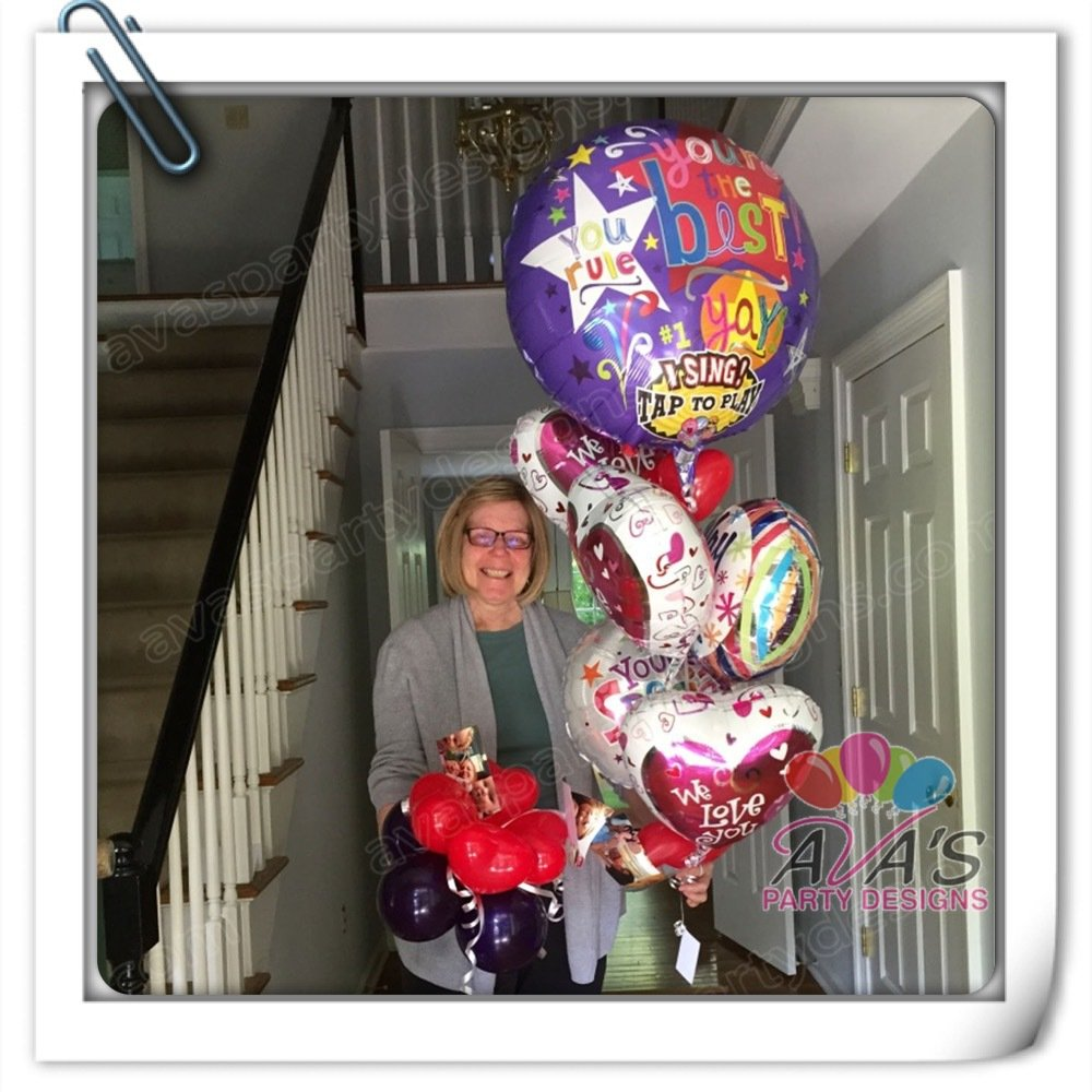 Balloon Delivery, Mother's Day Balloon