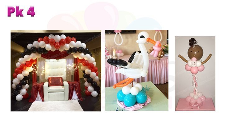 Baby Shower Balloon Decoration, Balloon Packages, Baby Shower Decor Ideas