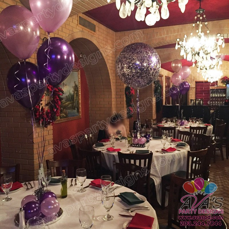 Sweet 16 Balloon decor
