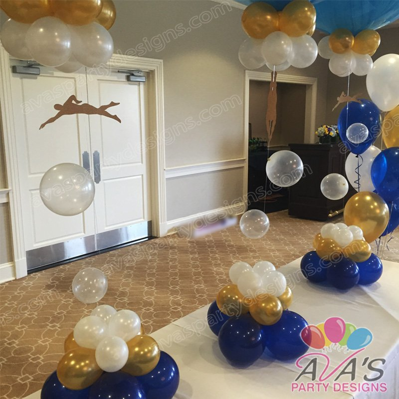 Swim & Dive Balloon Centerpiece