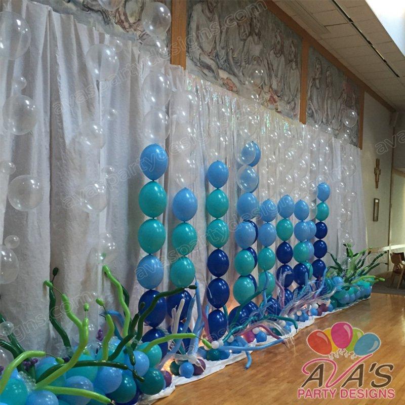 Under the Sea Balloon Decor, Beach Balloon, Pool Party