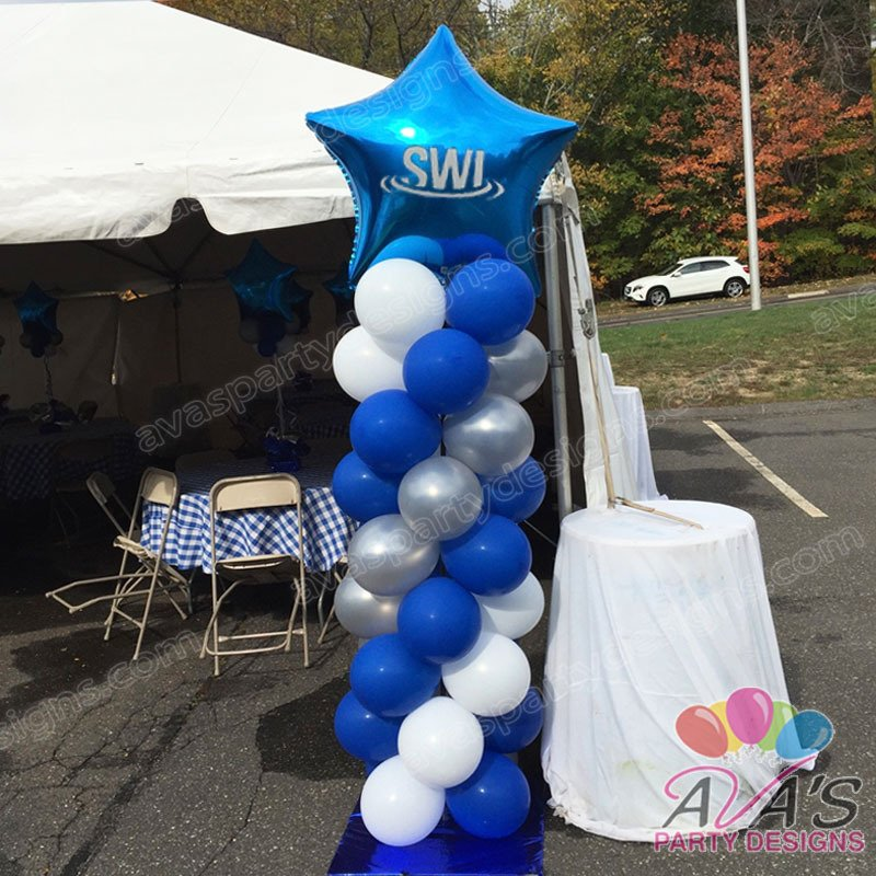 corporate balloon decor