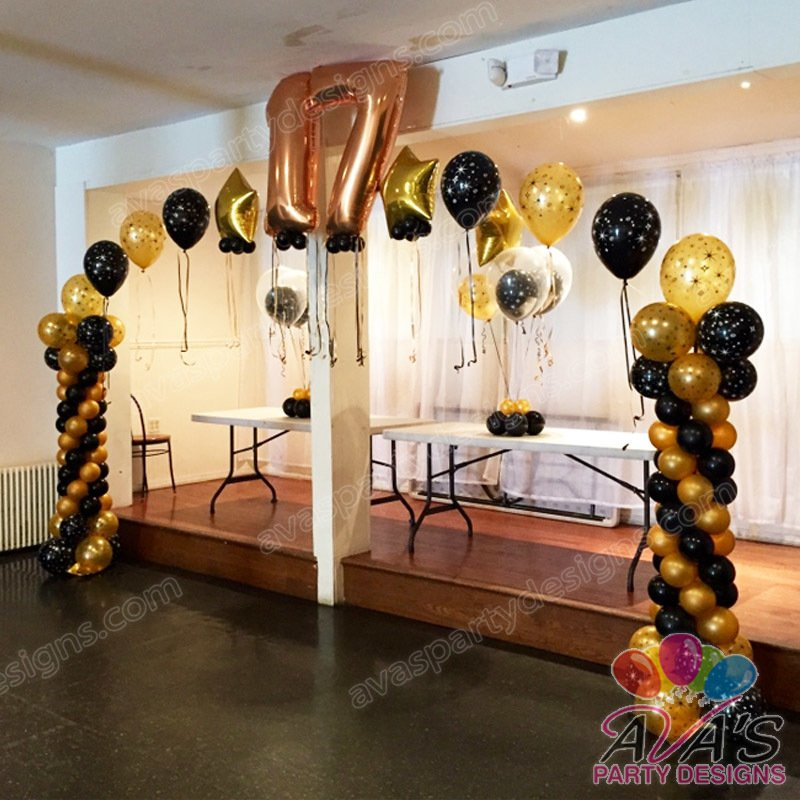 sweet 16 balloon arches, balloon number arch, balloon arches