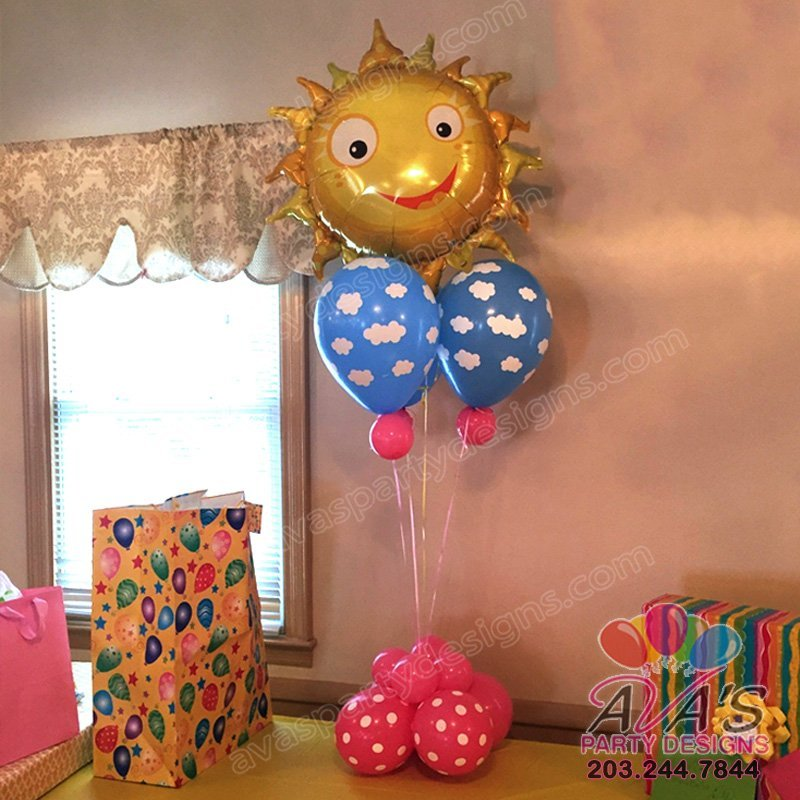sunshine balloon decoration