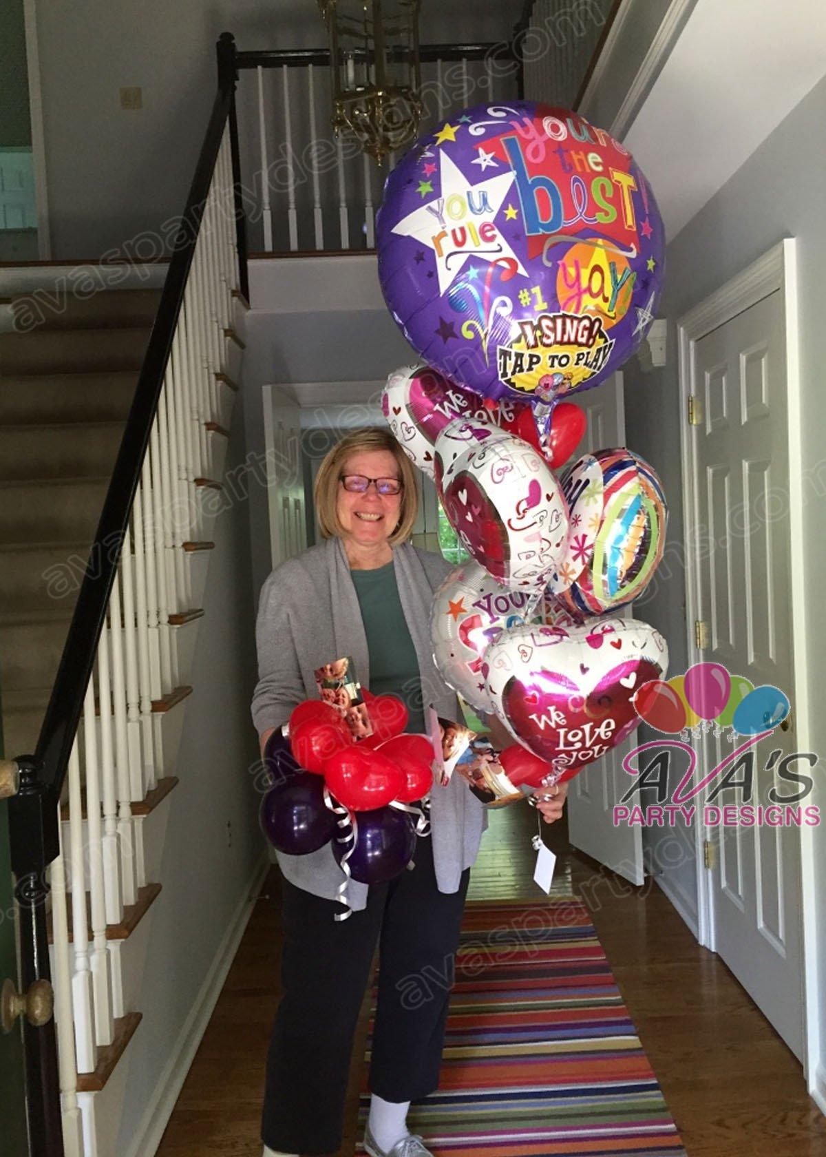 balloon delivery in Connecticut, balloon delivery for birthdays, gift ideas for birthdays