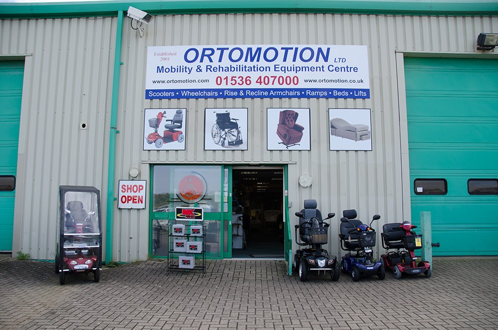 Ortomotion Mobility & Rehabilitation Equipment Centre in Corby