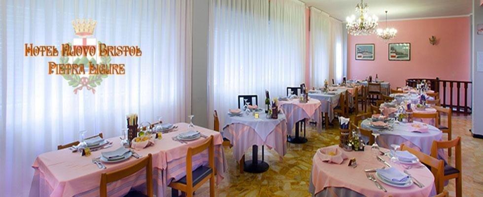 Sala Pranzo - Hotel Nuovo Bristol - Pietra Ligure
