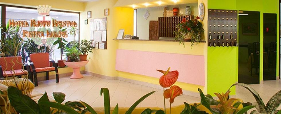 Reception  - Hotel Nuovo Bristol - Pietra Ligure