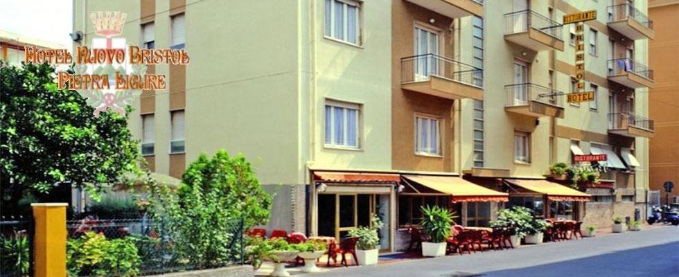 Ingresso  - Hotel Nuovo Bristol - Pietra Ligure