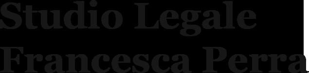 STUDIO LEGALE FRANCESCA AVV. PERRA - LOGO