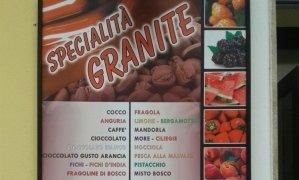 granite alla frutta