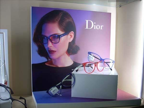occhiali alla moda donna