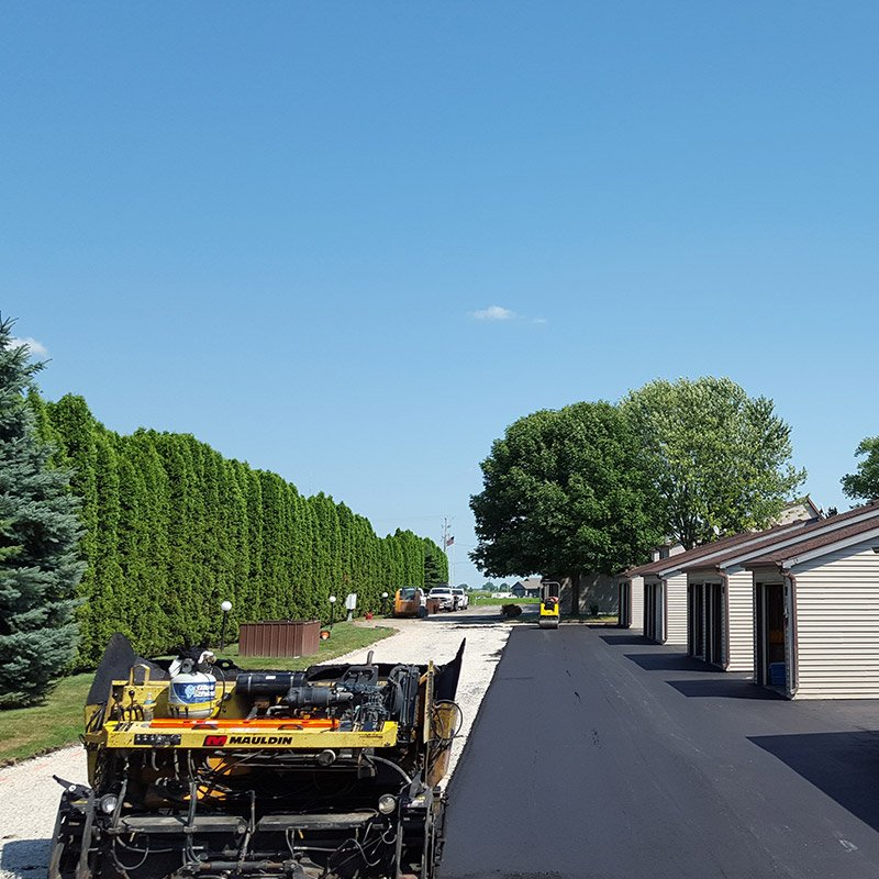 Driveway Finished Asphalt