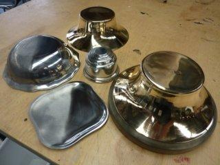 fondelli metallici, sabbiatura, lavorazione galvanica
