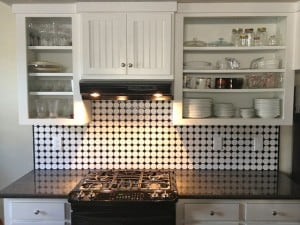 Update your old kitchen cabinets with paint and new hardware