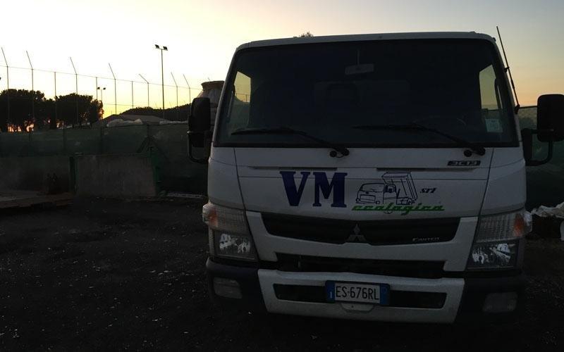 mezzi trasporto materiali roma