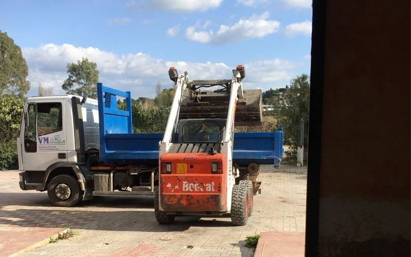 trasporto rifiuti roma