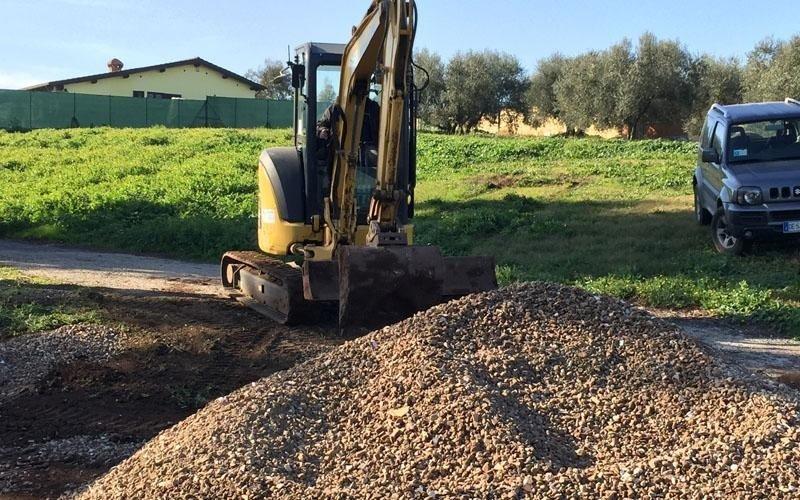 scavi per edilizia roma