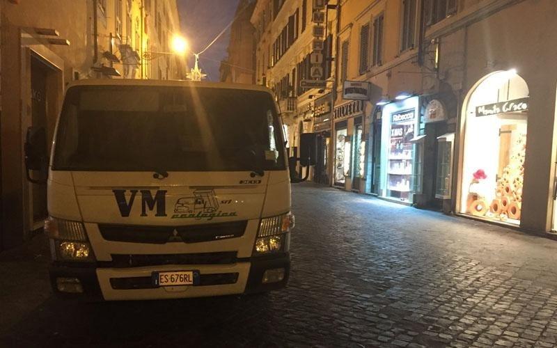 furgone vm ecologica roma