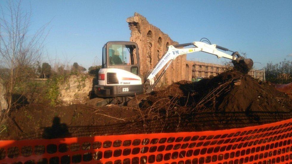 escavatore vm ecologica