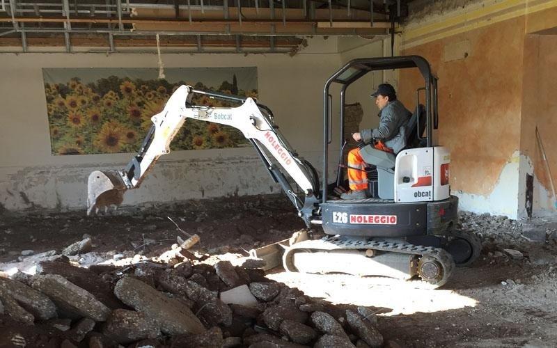 smaltimento calcinacci edilizia roma