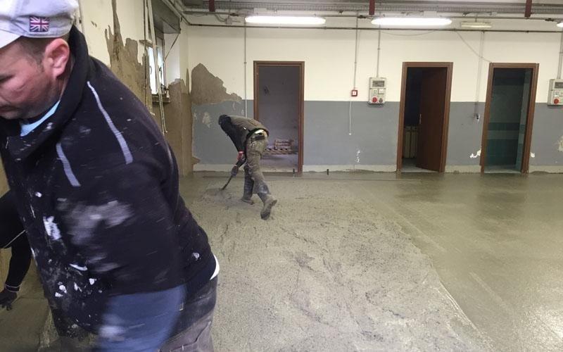 realizzazione pavimentazioni industriali roma