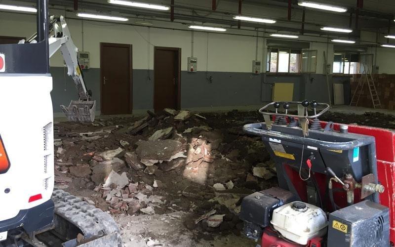 servizi smaltimento calcinacci roma