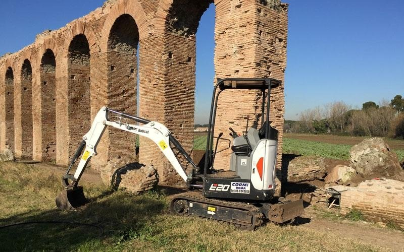 scavi edili roma