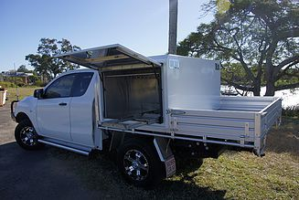 View of the BT50 half canopy : canopy for ute - memphite.com