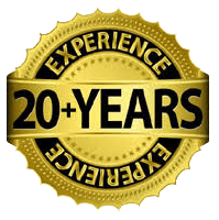 20 years experience seal
