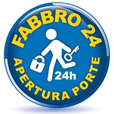 FABBRO 24H APERTURA PORTE - LOGO