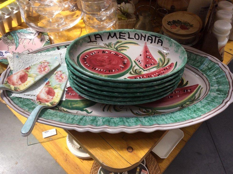 Servizio melonata