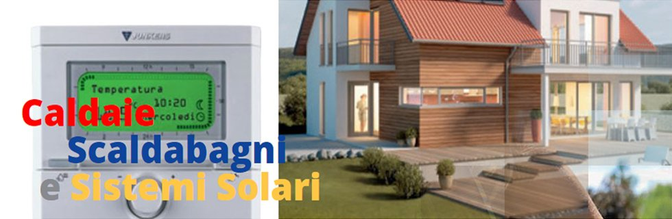 pannelli solari e scaldabagni a gas